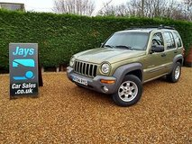 jeep cherokee 3.7 v6 limited (( left hand drive )) automatic in Lakenheath, UK