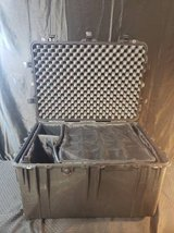 Pelican 1660 case with foam inserts and locks in Camp Pendleton, California