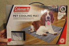 COLEMAN Pet Cooling Mat in Box, 24 x 30 inches, For Dogs up to 75 Pounds in Naperville, Illinois