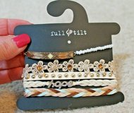 NEW With Tags -- Full Tilt -- Set of 5 Bracelets in Joliet, Illinois