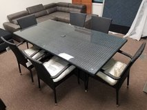 New! Outdoor Patio Table and 6 Chairs FREE DELIVERY in Camp Pendleton, California