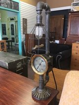 Steampunk Upcycled Lamp in Chicago, Illinois