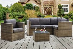 New! Outdoor Patio Sectional + Chair + Table FREE DELIVERY in Camp Pendleton, California