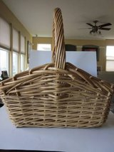 Large Brown Wicker Basket in Algonquin, Illinois