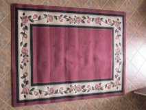 Flowered Area Rug in Algonquin, Illinois