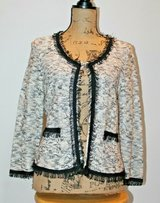 Beautiful NIC + ZOE  Sweater Fine Knit Jacket, Linen/Cotton, Medium -- EUC! in Aurora, Illinois