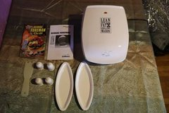 George Foreman grill in Fort Riley, Kansas