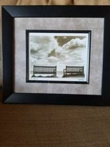 """Two Friends"" framed new print in Camp Pendleton, California"