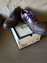 Mens leather shoes size 12 by Bass in Camp Pendleton, California