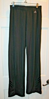 adidas Black Active Wear ClimaLite Pants, Boot Cut, Elastic Waist, Medium in Westmont, Illinois
