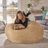 New Lila Faux Suede Bean Bag in Bolingbrook, Illinois