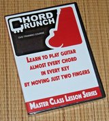 NEW Chord Crunch DVD Learn To Play Guitar Master Class Lesson Series in Joliet, Illinois