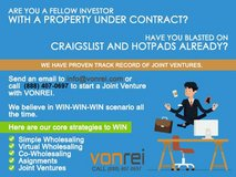 Are you a fellow investor with a property under contract? in Bolling AFB, DC
