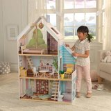 Baby girl Kid Kraft Zoey Dollhouse with EZ Kraft Assembly in Lockport, Illinois