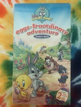baby looney tunes - eggs-traordinary adventure (vhs, 2003) sealed new in Joliet, Illinois