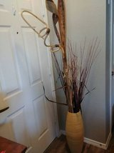 Rustic vase with reads and decor in Phoenix, Arizona