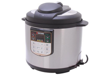 Brand New tatung tpc-6lb stainless steel electric pressure cooker 6 quart silver gray in Bolingbrook, Illinois