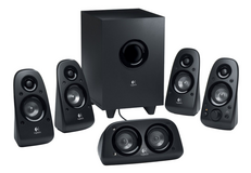 New logitech z506 150w 5.1ch speakers surround sound speakers with aux line in in Joliet, Illinois