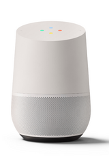 New google home personal assistant smart speaker - white/slate in Joliet, Illinois