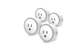 Brand New 4pcs elf smart plug by eques no hub required compatible with alexa & google home in Joliet, Illinois