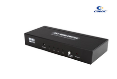 Brand New Coboc High Quility Full HD 1080P 4 In 1 out HDMI 1.4 Amplified With Remote in Joliet, Illinois