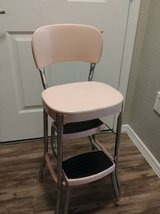 Vintage Cosco 2 Step Kitchen Stool Chair Mid Century Pad~Over~Metal in Phoenix, Arizona