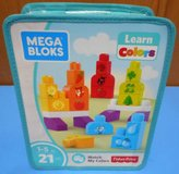 (W2) Fisher Price Mega Bloks Learn Color Set (New) in CyFair, Texas