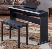 **Piano Casio 88 Key Digital Natural Piano Bundle w Stand, Bench **Warranty** in Joliet, Illinois