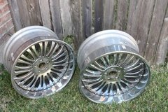 "(Two) Asanti 20"" Chrome Wheels in Kingwood, Texas"