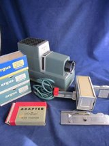 ARGUS 300 Slide Projector Automatic Slide Changer 4 Magazines GUARANTEED in Wheaton, Illinois