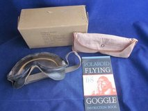 WWII ARMY AIR FORCES TYPE B8 POLAROID Flying Goggle Aviation Kit BOX in Chicago, Illinois