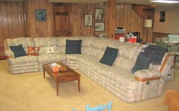 H. BRIAN Sofa / Sectional with Queen Sofa Bed in Lockport, Illinois