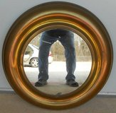 (# 17) Round Brass Mirror (Used) in Spring, Texas