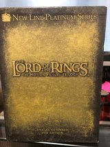 Lord Of The Rings Trilogy DVD in Kingwood, Texas