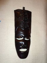 HAND CARVED MASK MUSEUM QUALITY in DeKalb, Illinois