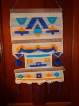 LARGE COLORFUL HANDWOVEN WALL HANGING in DeKalb, Illinois