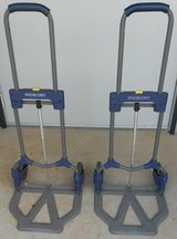 (# 34) Set of 2 Fold Up Hand Carts (Used) in CyFair, Texas