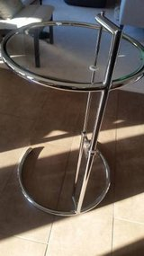 Fine Mod Imports Contemporary Glass End Table in Morris, Illinois
