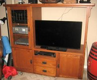 Oak Entertainment Center in St. Charles, Illinois