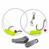 Lindy Floating Rig - Fluorescent Yellow - Minnow Hook X 3 in Quantico, Virginia