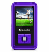 Ematic EM208VIDPR 8GB MP3 Video Player with FM Tuner/Recorder and 1.5-inch Color in Quantico, Virginia