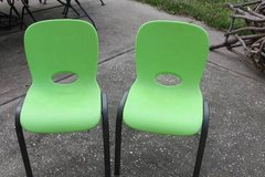 Two Liftime Kids Stackable Chairs in Kingwood, Texas