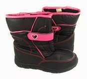 winter boots snow girls kids shoes size 5 girl lined warm in Bellaire, Texas