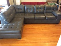 Ashley furniture grey sectional in Joliet, Illinois