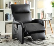 New Black Leatherette Recliner Chair FREE DELIVERY in Miramar, California