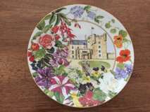 Decorative Collector Plate Commemorating 90th Birthday Queen Mother in Lakenheath, UK