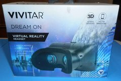 (B18) Vivitar Dream On Virtual Reality Headset VR 160 (New) in Houston, Texas