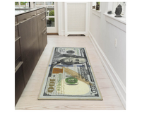 New Rugs $100 Bill Print New Benjamin Non-slip Area Rug Runner 22''x53'' in Plainfield, Illinois