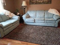 Couch, Love Seat, and Matching Carpet in Clarksville, Tennessee