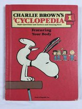 Vintage 1980 Charlie Brown's Cyclopedia Volume 1 Hard Cover Book Featuring Your Body in Chicago, Illinois